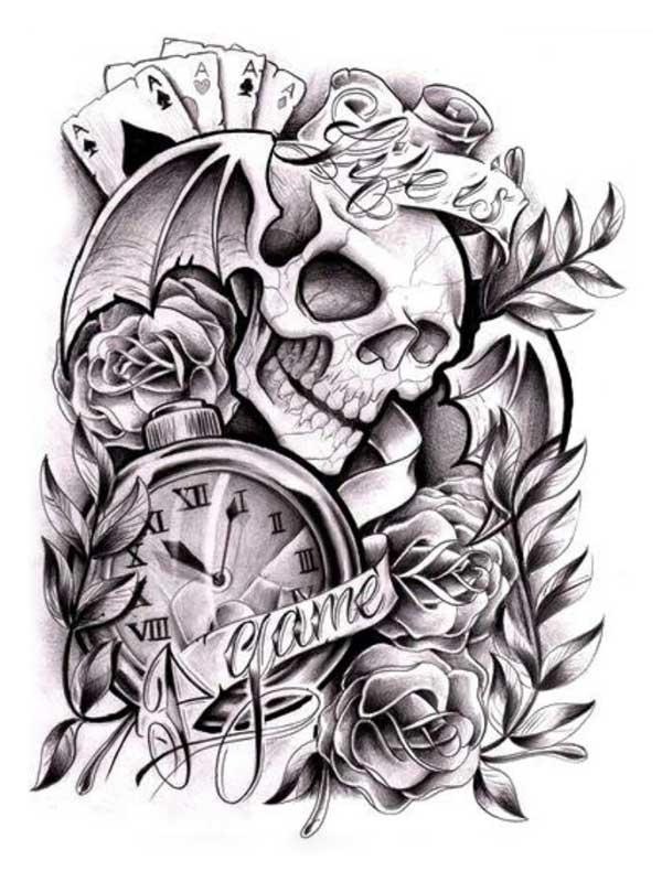 Чикано стиль татуировки